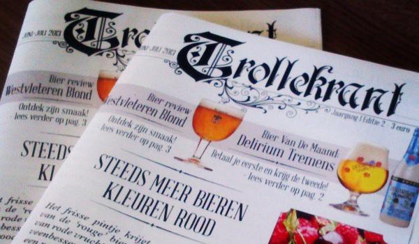 trollekrant, trollekelder, drankkaart, bieren, speciale bieren