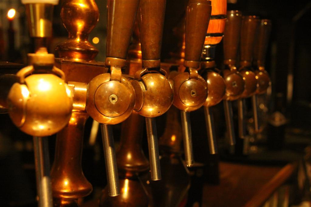 Getapt bier uit de Trollekelder Gent
