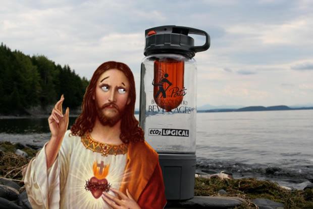 genie, Jezus, water, bier, water in bier, Pat, Tatera, Pat Tatera