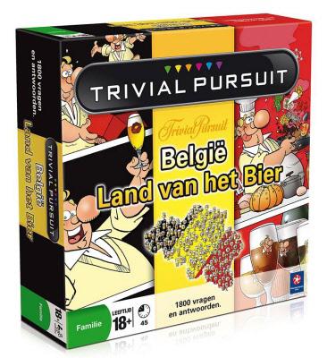 Trivial Pursuit, bier, Belgische bieren, Belgische trots, ode, gezelschapsspel, kennis