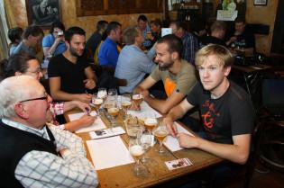 Trollekelder, bier, bierdegustatie, degustatie, proeverij, bierproeverij, Gent, biercafé