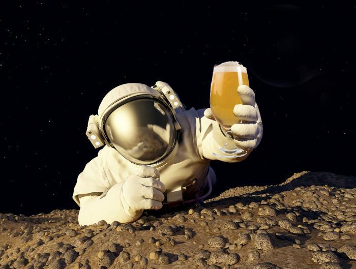 Wat is er allemaal mogelijk met bier, bier, bierroomijs, maansteen, kosmisch bier, Kirin, biercake