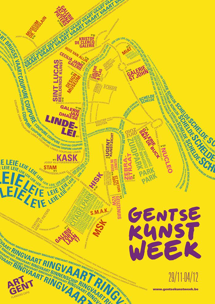Gent, Kunstweek, kunst, uit in Gent, wat te doen in Gent