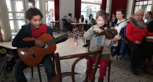Wim Claeys, Gent, Vooruit, Café