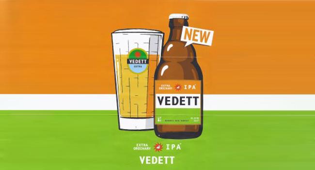 nieuw bier, vedett ipa, bier