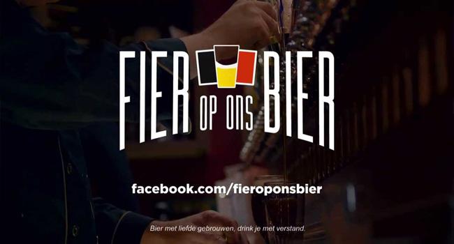fier op ons bier, belgisch bier, beste bier ter wereld