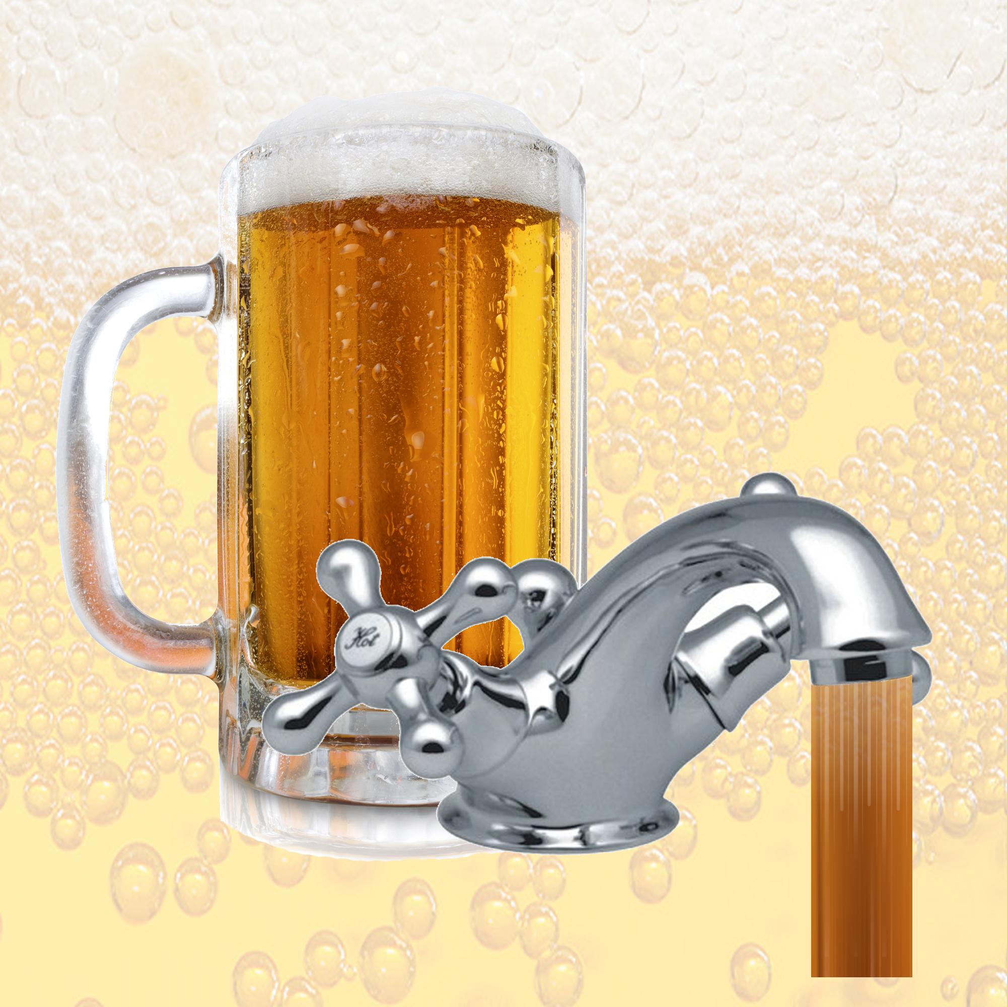 Brouwerij Tui, bier uit de kraan, stunt, Nieuw-Zeeland