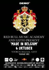 Red Bull, Lefto, Made in Belgium, muziek, Gent, Vooruit