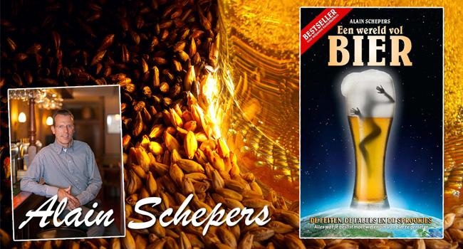 boek over bier, alain schepers, een wereld vol bier, te koop, bierliefhebbers