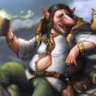 Trollus Bibendus, de drinkende trol, bier