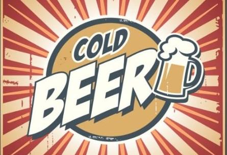 beer, retro